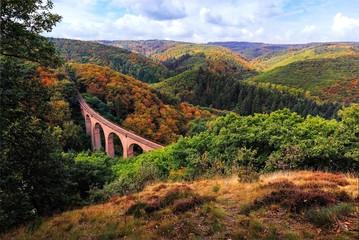 Eisenbahnviadukt im Hunsrück