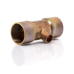 T-joint connection pipe of Air-conditioner or Refrigerant system