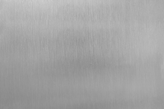 Aluminium brushed plate texture for background.