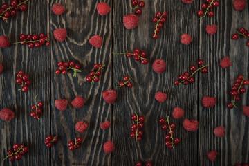Fresh berries background