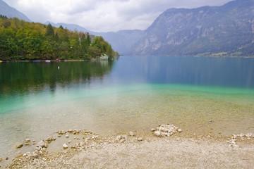 Lake Bohinj,Slovenia