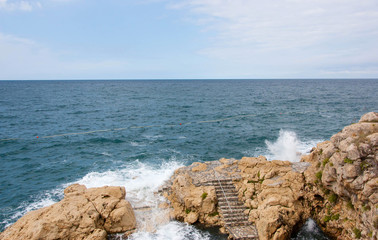Adriatic Sea at Rovigno, Croatia