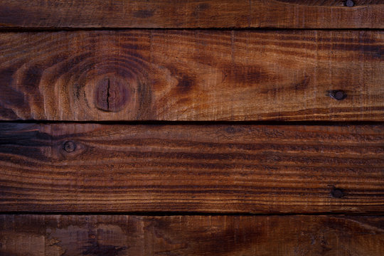 Old vintage planked wood