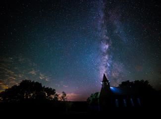 Milky Way steeple