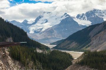 """Columbia icefield glacier skywalk""  view"