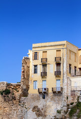 Old house. Chania Town, Crete Island, Greece.