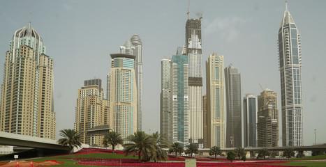 Dubai Marina Creek in Emirates