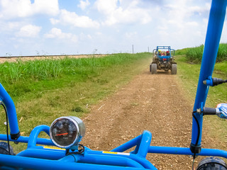 Buggy Adventure in Cumayasa, near La Romana and Catalina Island.Enjoy the landscapes of the Dominican Republic During a Buggy ride. Fun and speed off road.