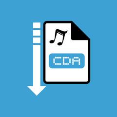 computer cda file icon