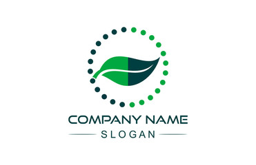 leaf eco logo