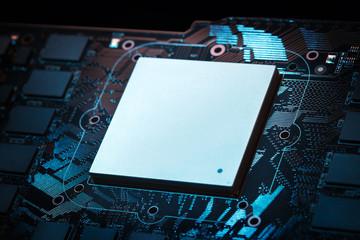 Futuristic powerful graphic processor
