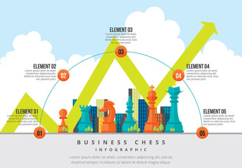Business Chess Infographic