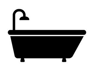 Bathtub / bath tub for bathing flat icon for apps and websites