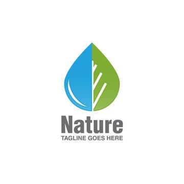 water drop logo icon