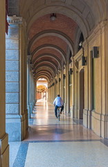 Bologna (Italy) - The city of the porches and the capital of Emilia-Romagna region, northern Italy