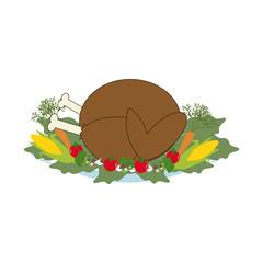 Thankgiving day turkey