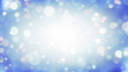 Circle bokeh lights holiday background