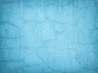 Grunge concrete texture background , blue wall.