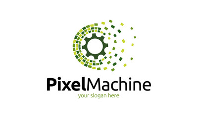 Pixel Machine Logo