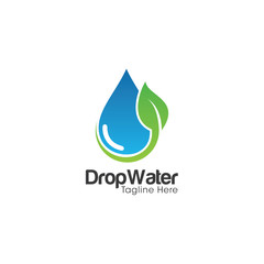 Drop Water Creative Concept Logo Design
