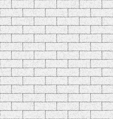 Brick wall seamless background.Vector illustration