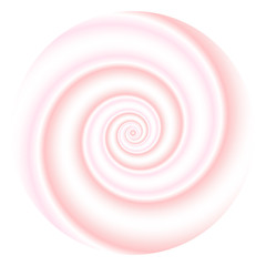 Abstract spiral background. Vector illustration.