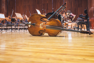 Cello Music instruments Orchestra music on stage Concert Hall