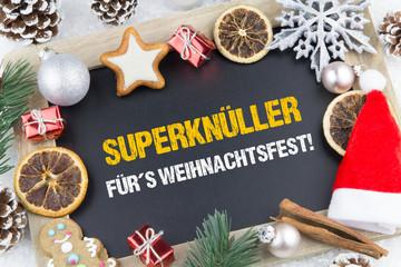 Superknüller für´s Weihnachtsfest!