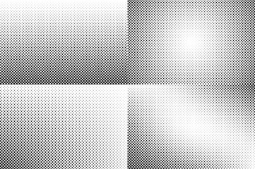 Small dots halftone vector background. Overlay texture