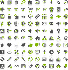 Green Iconset  Internet Website Shop