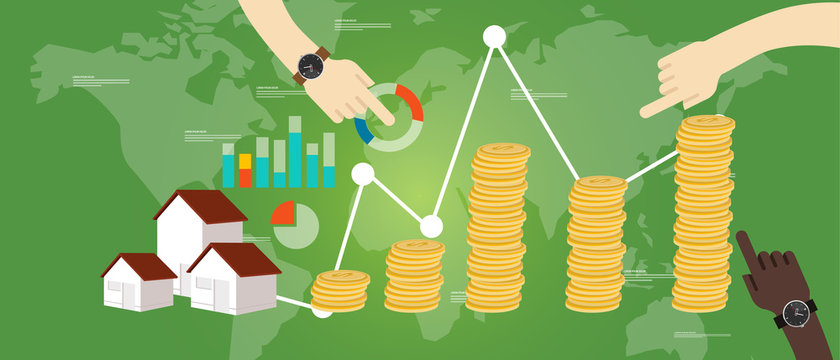 property fund money house real estate investment growth