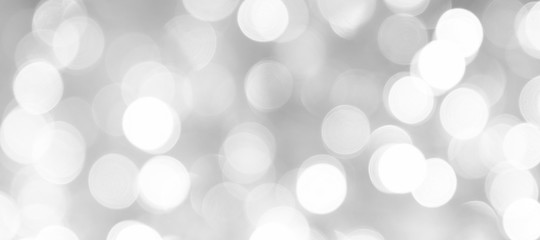 abstract silver glitter christmas background, macro photography
