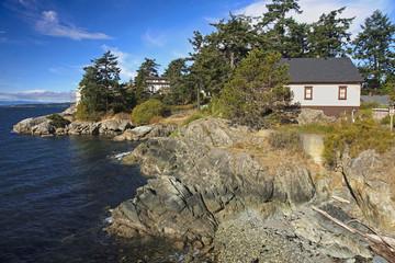 Coast in Victoria (Vancouver Island, Canada)