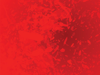 red abstract blots background