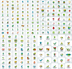 Mega collection of web logo icons