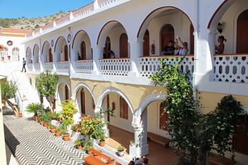 Île de Symi, monastère de Panormitis