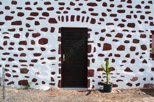 Fuerteventura isole canarie dettaglio di una casa for Case di architettura spagnola