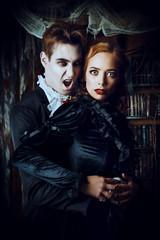biting vampire