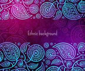 Oriental decorative pattern