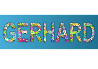Vorname Gerhard, Grafik
