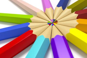 some color pencils