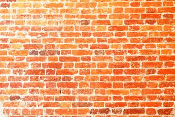Beautiful red brick wall