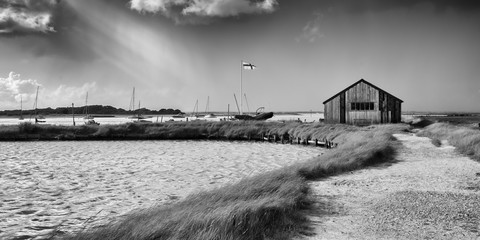 Passing Storm at Newtown Creek, Isle of Wight, England