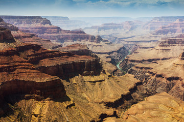 The Grand Canyon National Park and the Colorado river