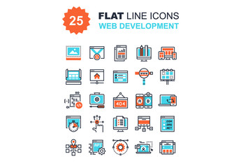 Web Development Icons Set