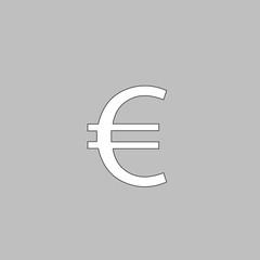 Euro computer symbol