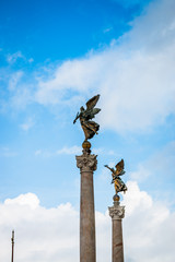 Statues du Vittoriano à Rome