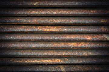 Ventilation metal grating