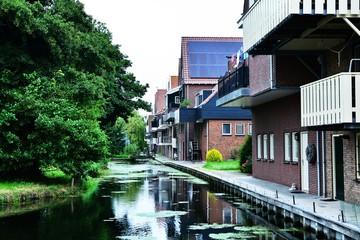 Hollanda'nın güzel evleri