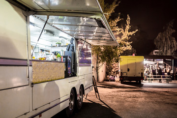 Food Truck, evening shot